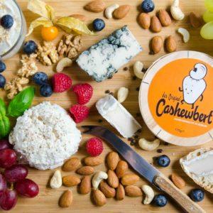 Cashewbert - veganer Käse