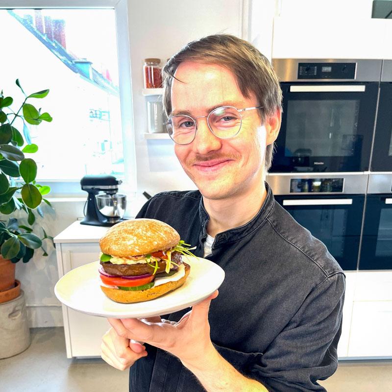 Andy's veganer Burger - Vitaquell