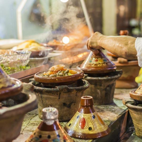 Marokkanischer Online-Kochkurs