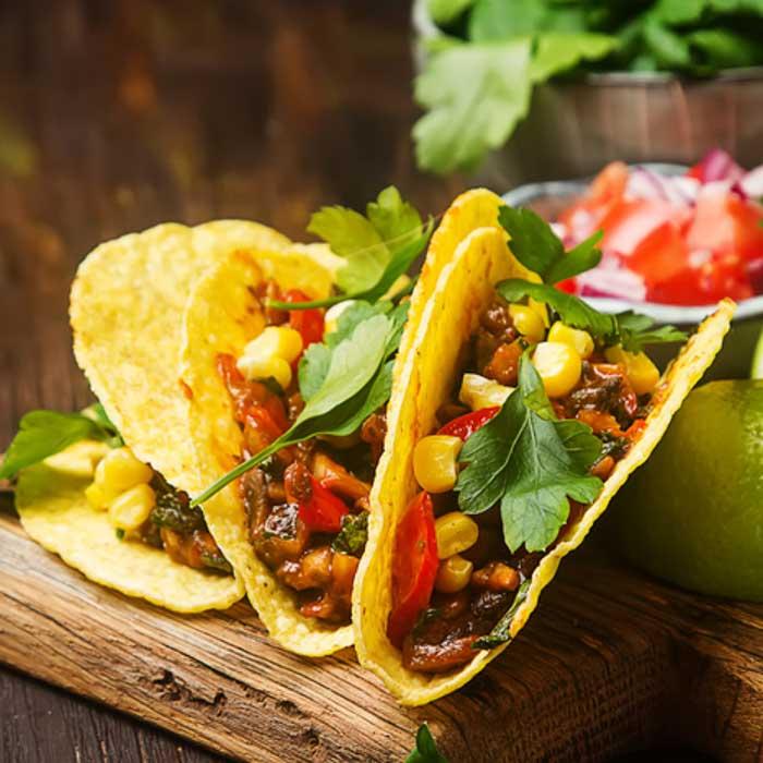 mexikanische Küche - Online Kochkurs - Tacos