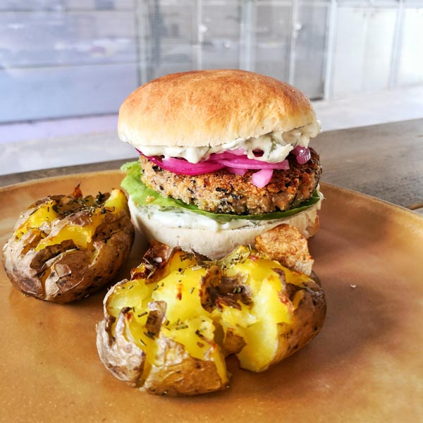 vegane Burger - Online Kochkurs